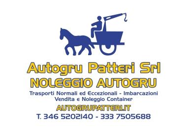 Autogru Patteri Srl - Noleggio Autogru, trasporti normali ed eccezionali, imbarcazioni, vendita e noleggio container